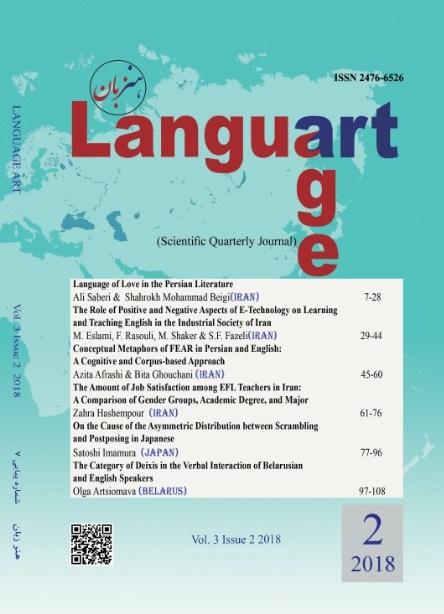 View Vol. 3 No. 2 (2018): Language Art